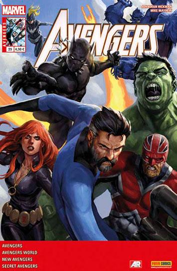 Marvel avengers 29