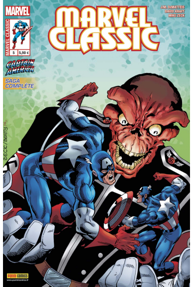 Marvel classic 5 captain america panini jpg