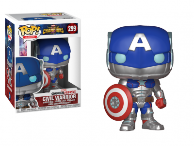 MARVEL CONTEST OF CHAMPIONS - Funko POP GAMES - Civil Warrior Vinyl Figure 10cm