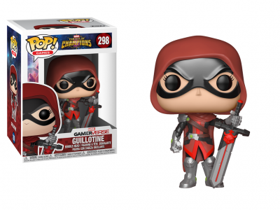 MARVEL CONTEST OF CHAMPIONS - Funko POP GAMES - Guillotine Vinyl Figure 10cm