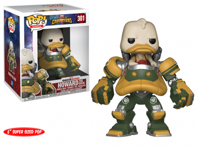 MARVEL CONTEST OF CHAMPIONS - Funko POP GAMES - Howard the Duck Vinyl Figure 15cm