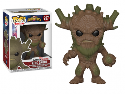 MARVEL CONTEST OF CHAMPIONS - Funko POP GAMES - King Groot Vinyl Figure 10cm