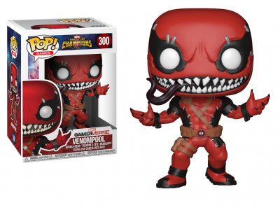 MARVEL CONTEST OF CHAMPIONS - Funko POP GAMES - Venompool Vinyl Figure 10cm