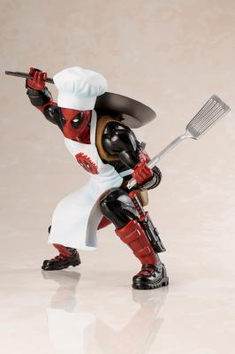 Marvel - Cooking Deadpool ARTFX+ Statue 14cm