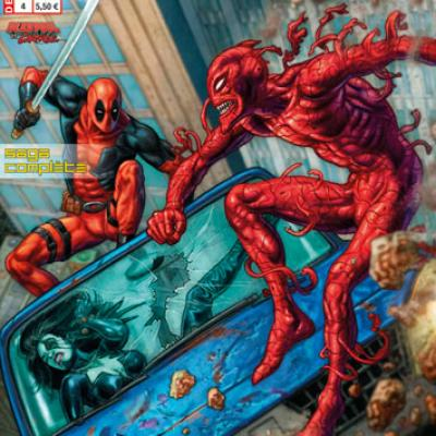 Marvel - DEADPOOL HORS SÉRIE 4 - DEADPOOL VS CARNAGE