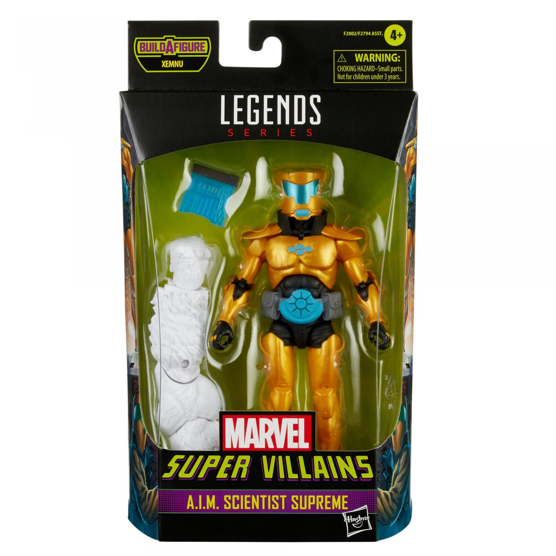 Marvel legends series hasbro a i m scientist supreme
