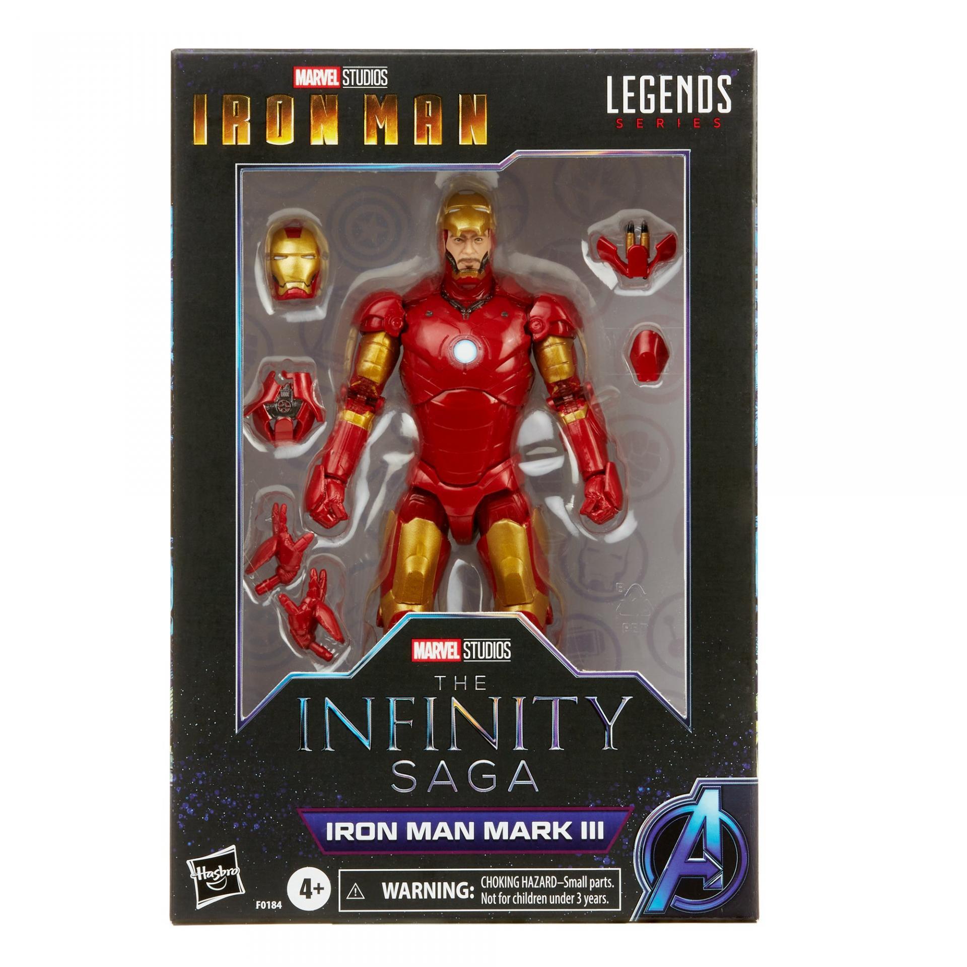 Marvel legends series hasbro iron man mark 3
