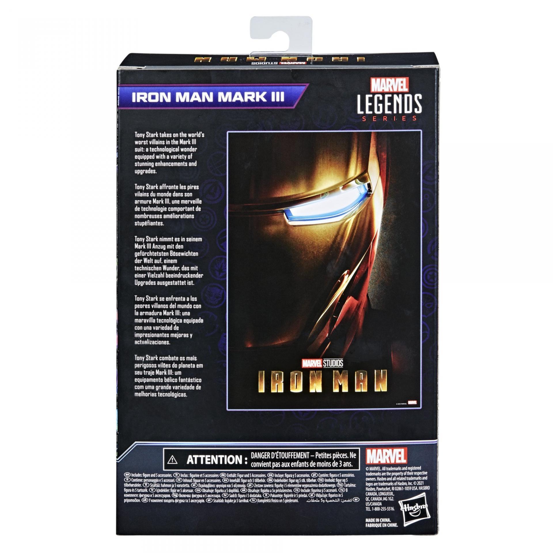 Marvel legends series hasbro iron man mark 31