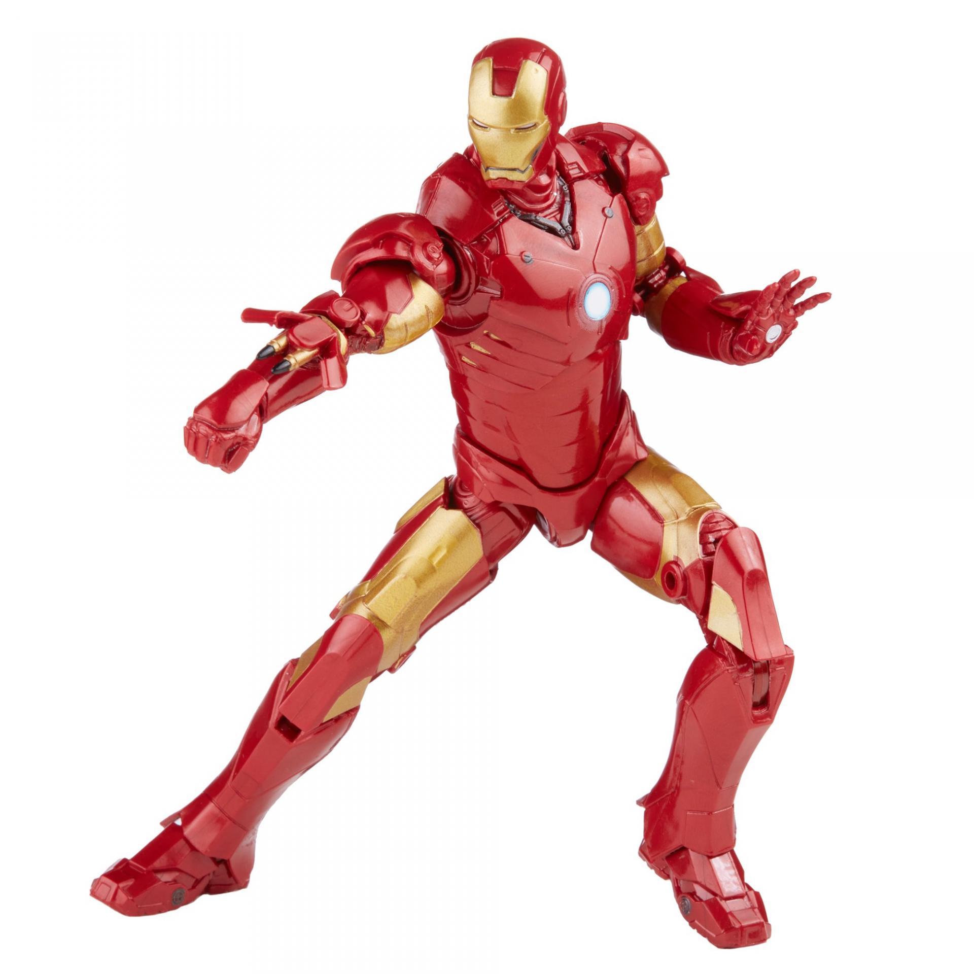 Marvel legends series hasbro iron man mark 312