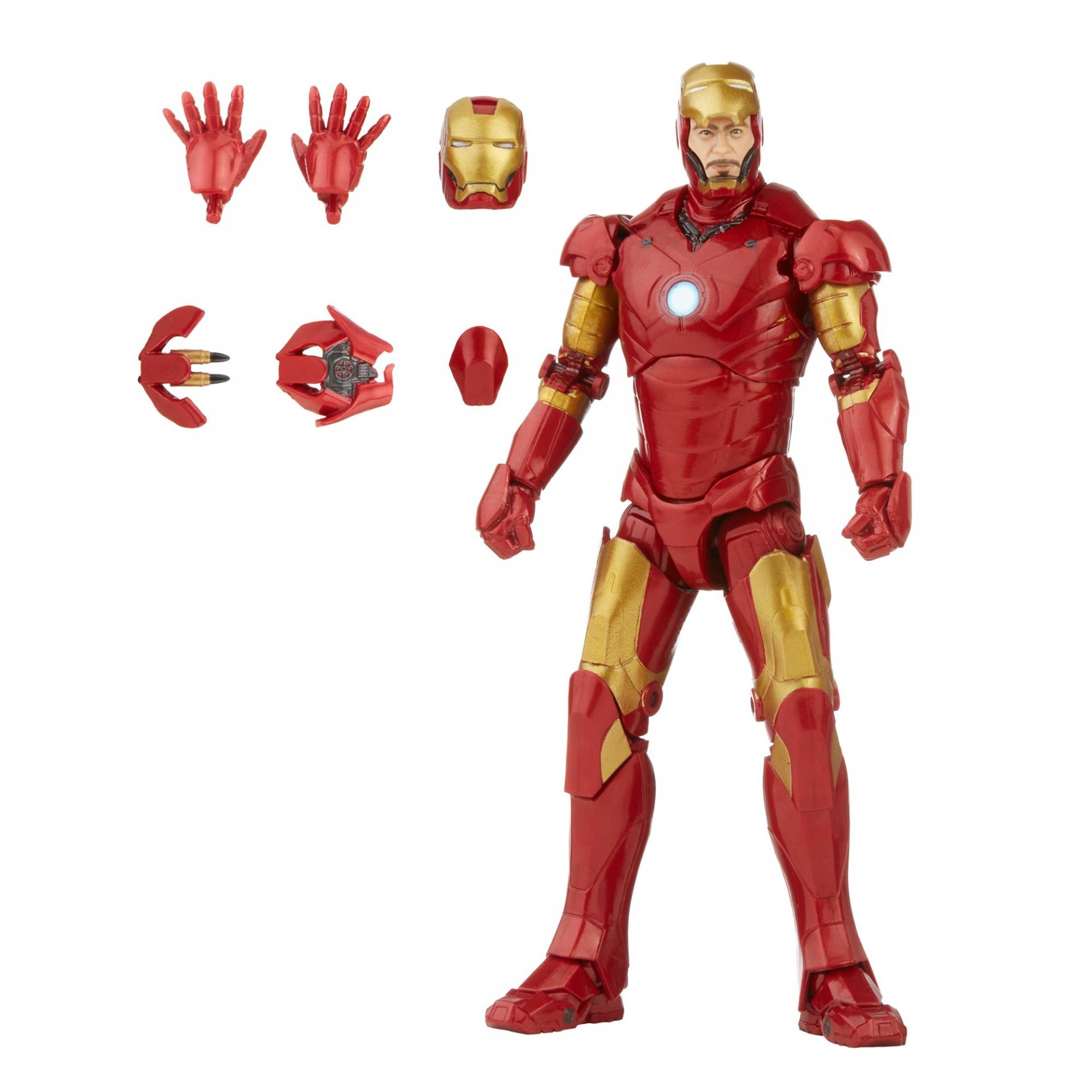 Marvel legends series hasbro iron man mark 313