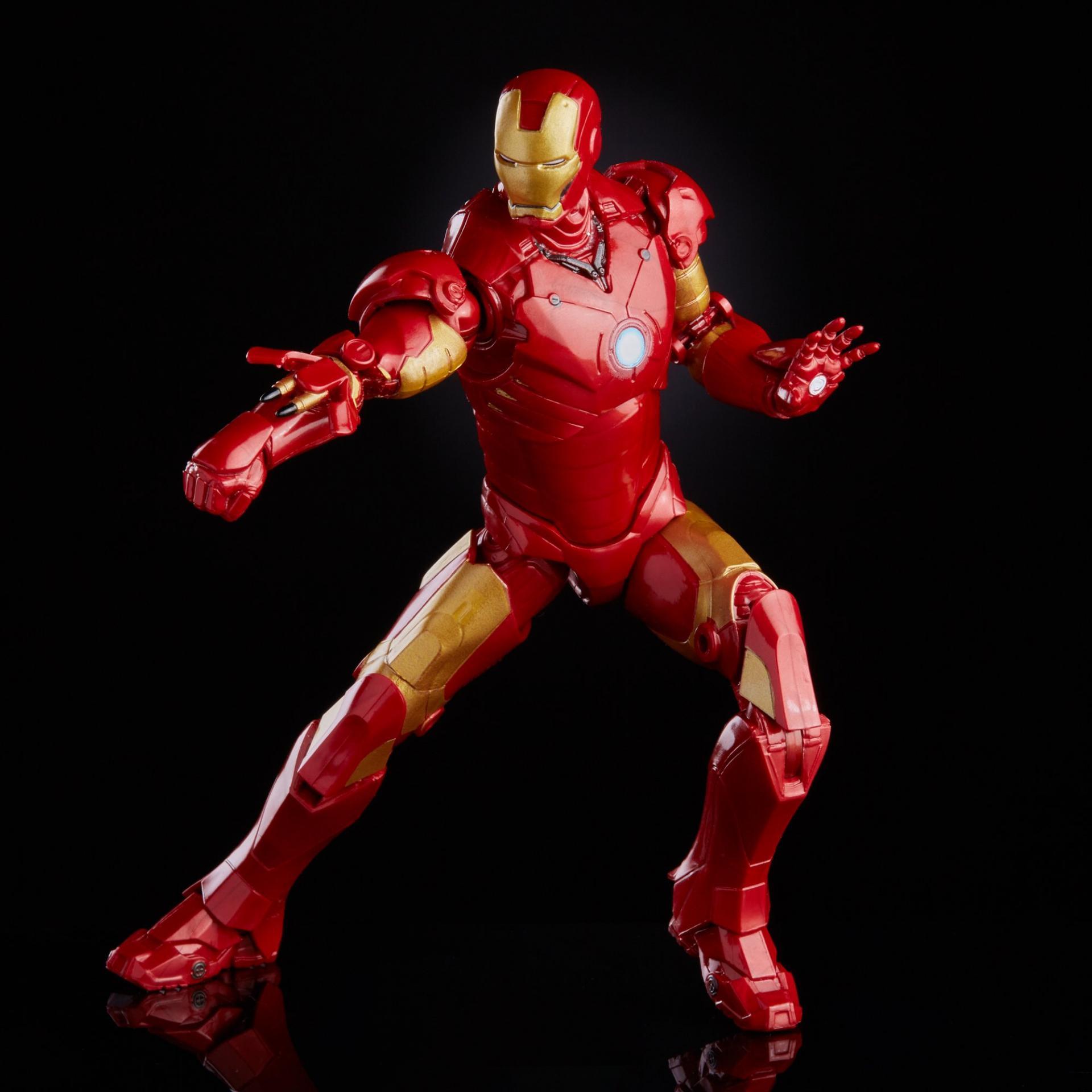 Marvel legends series hasbro iron man mark 33