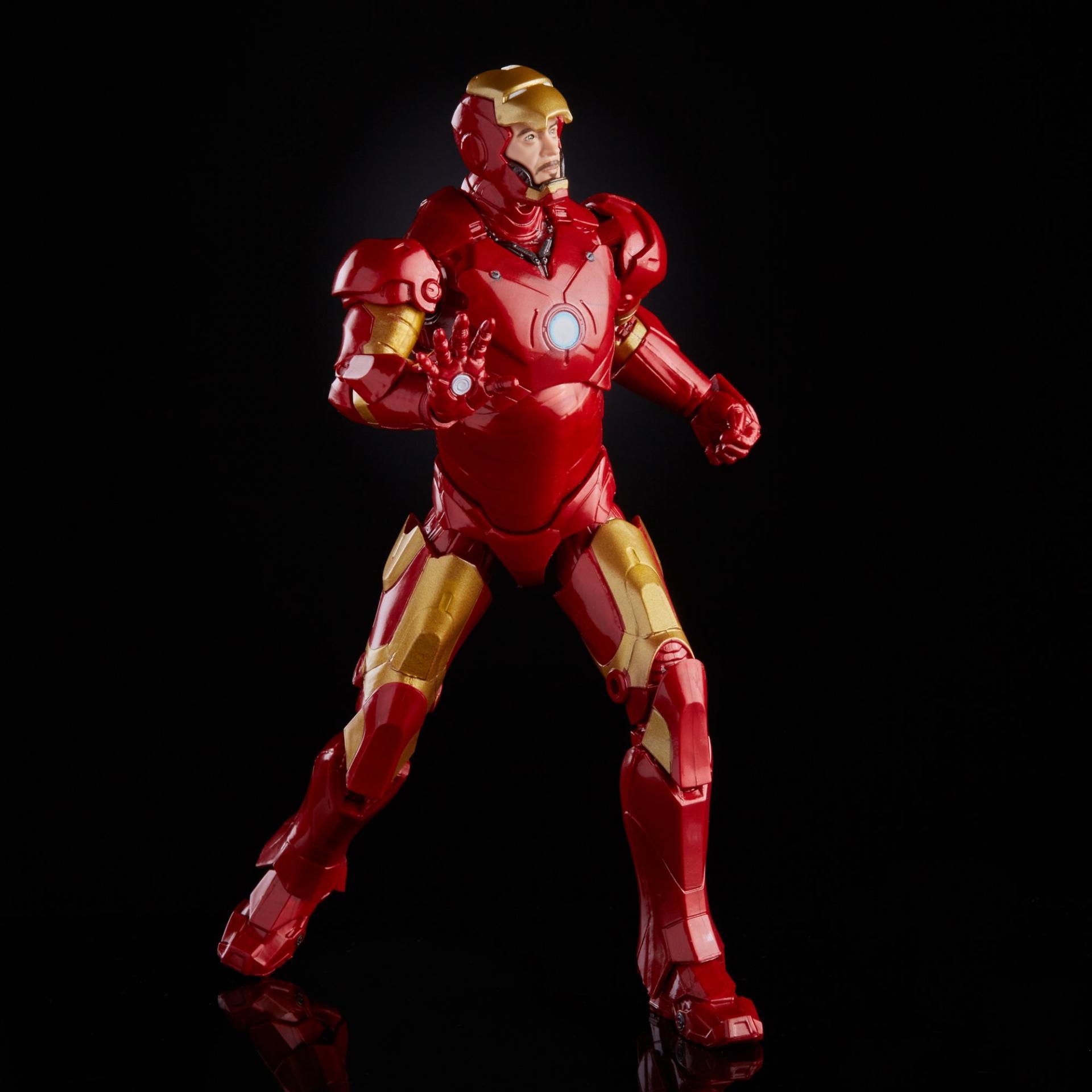 Marvel legends series hasbro iron man mark 34