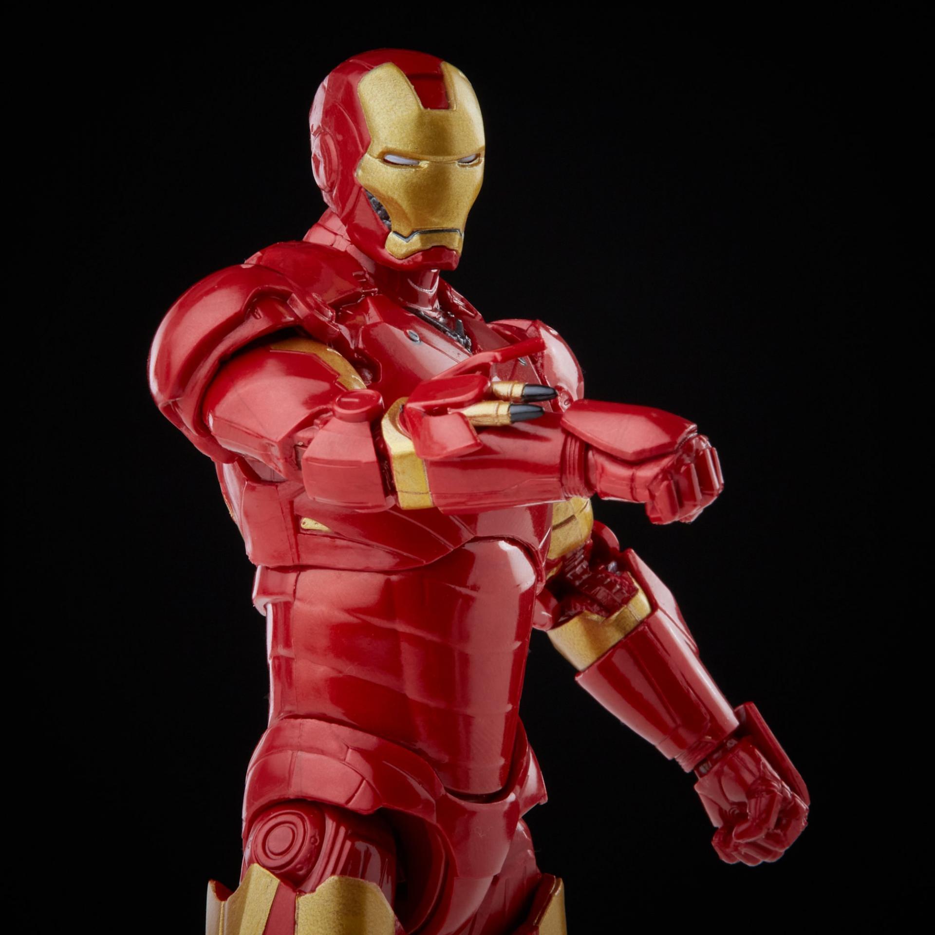 Marvel legends series hasbro iron man mark 35