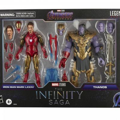 MARVEL LEGENDS Series - HASBRO - Iron Man Mark 85 vs. Thanos
