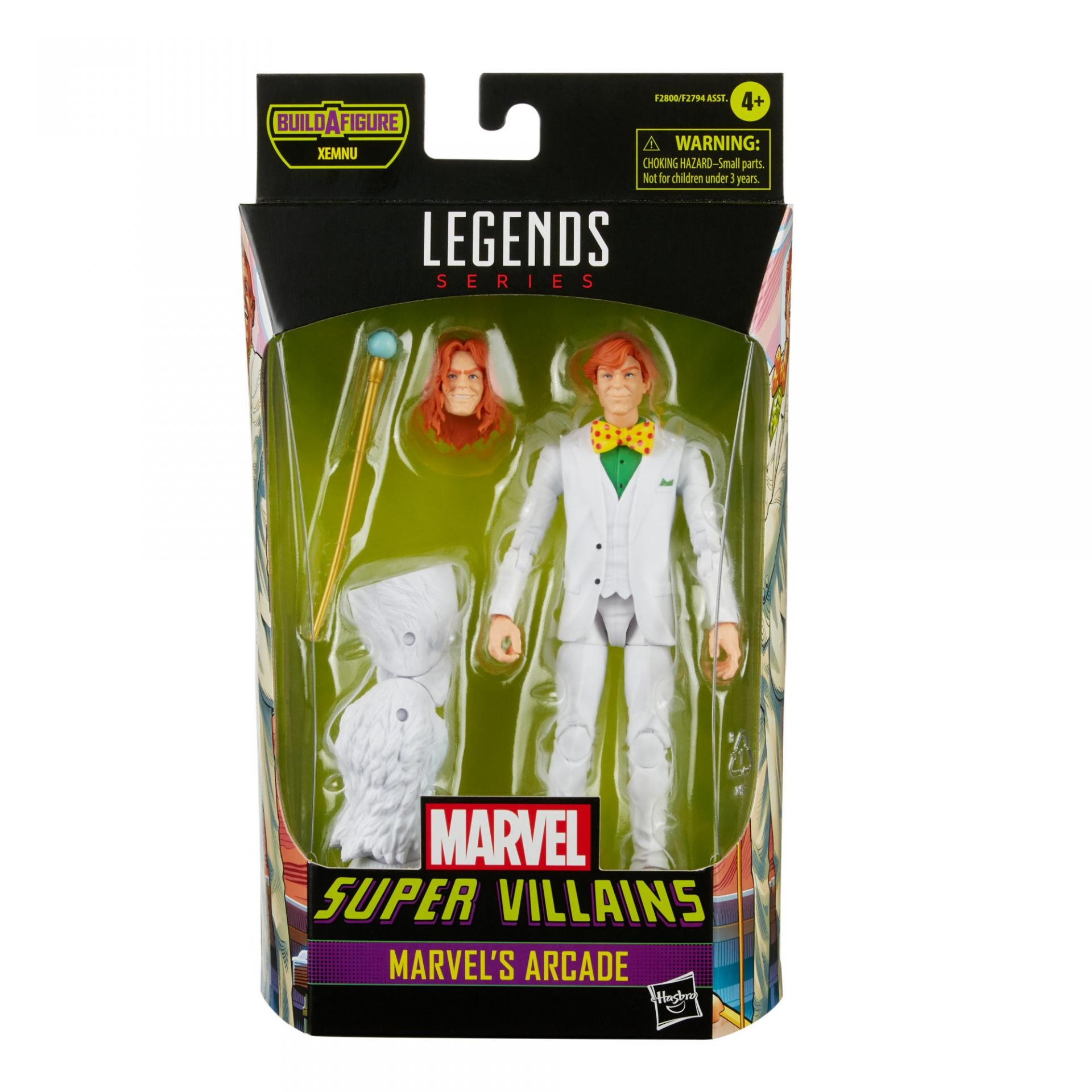 Marvel legends series hasbro marvel s arcade