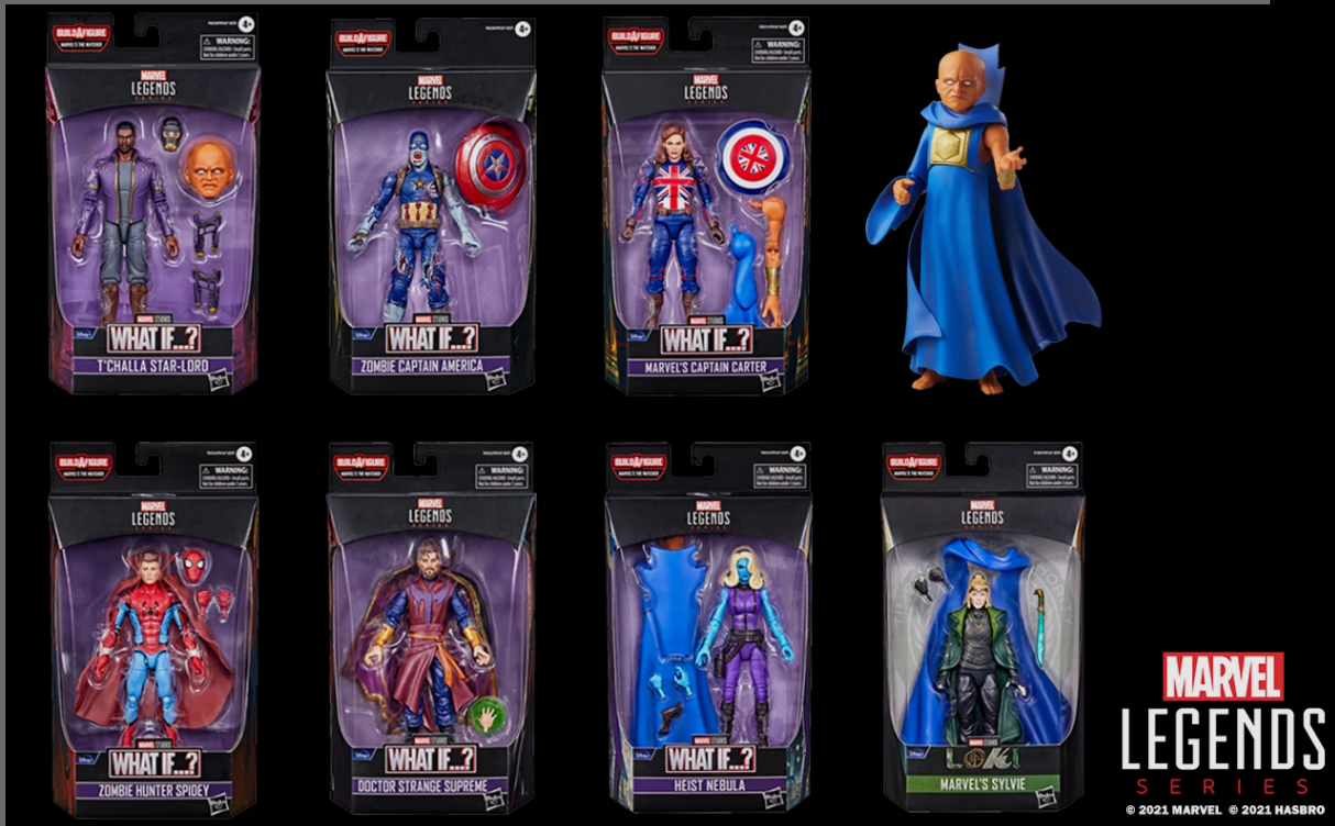Marvel legends series hasbro pack what if 1