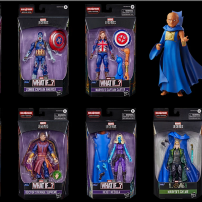 MARVEL LEGENDS Series - HASBRO - pack What If...?