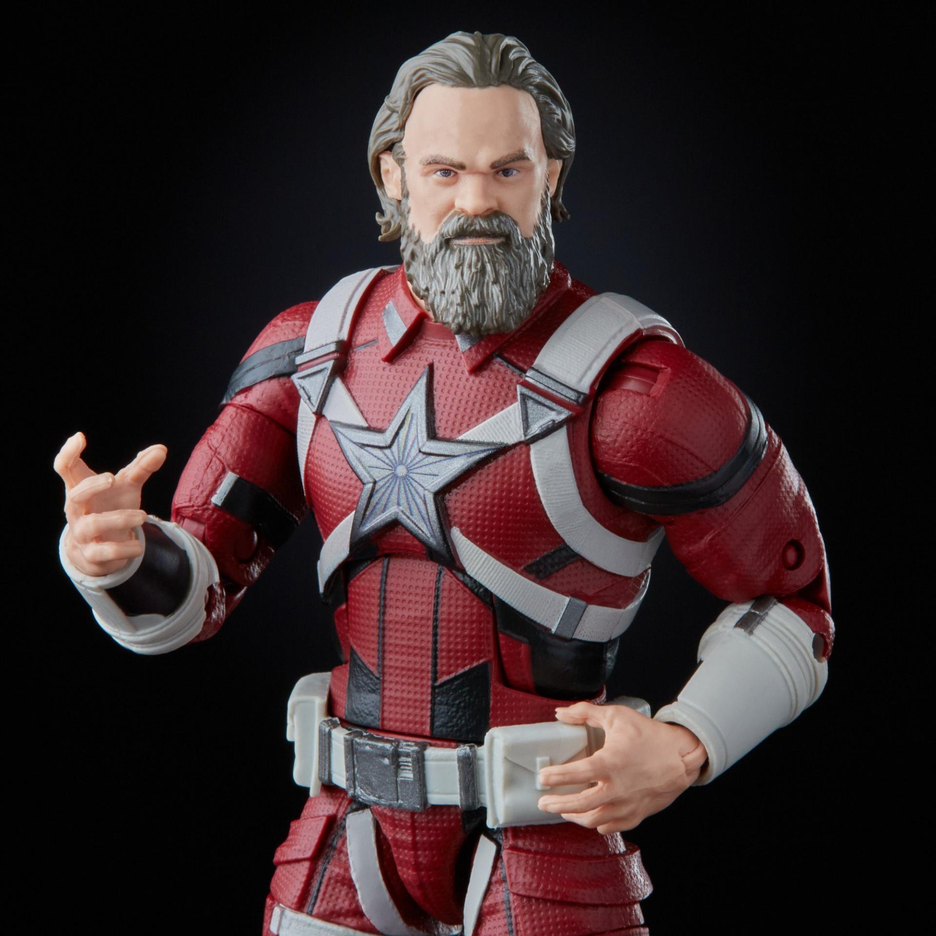 Marvel legends series hasbro red guardian melina vostkoff 2 pack10