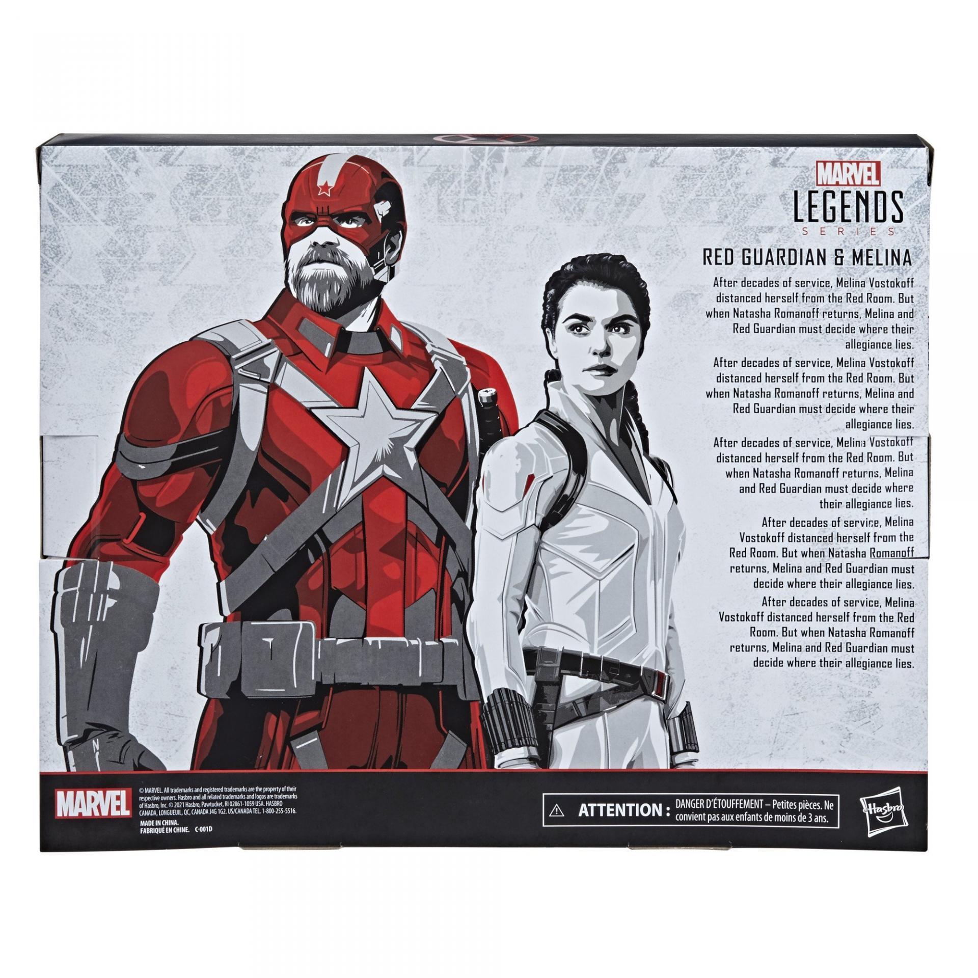 Marvel legends series hasbro red guardian melina vostkoff 2 pack11