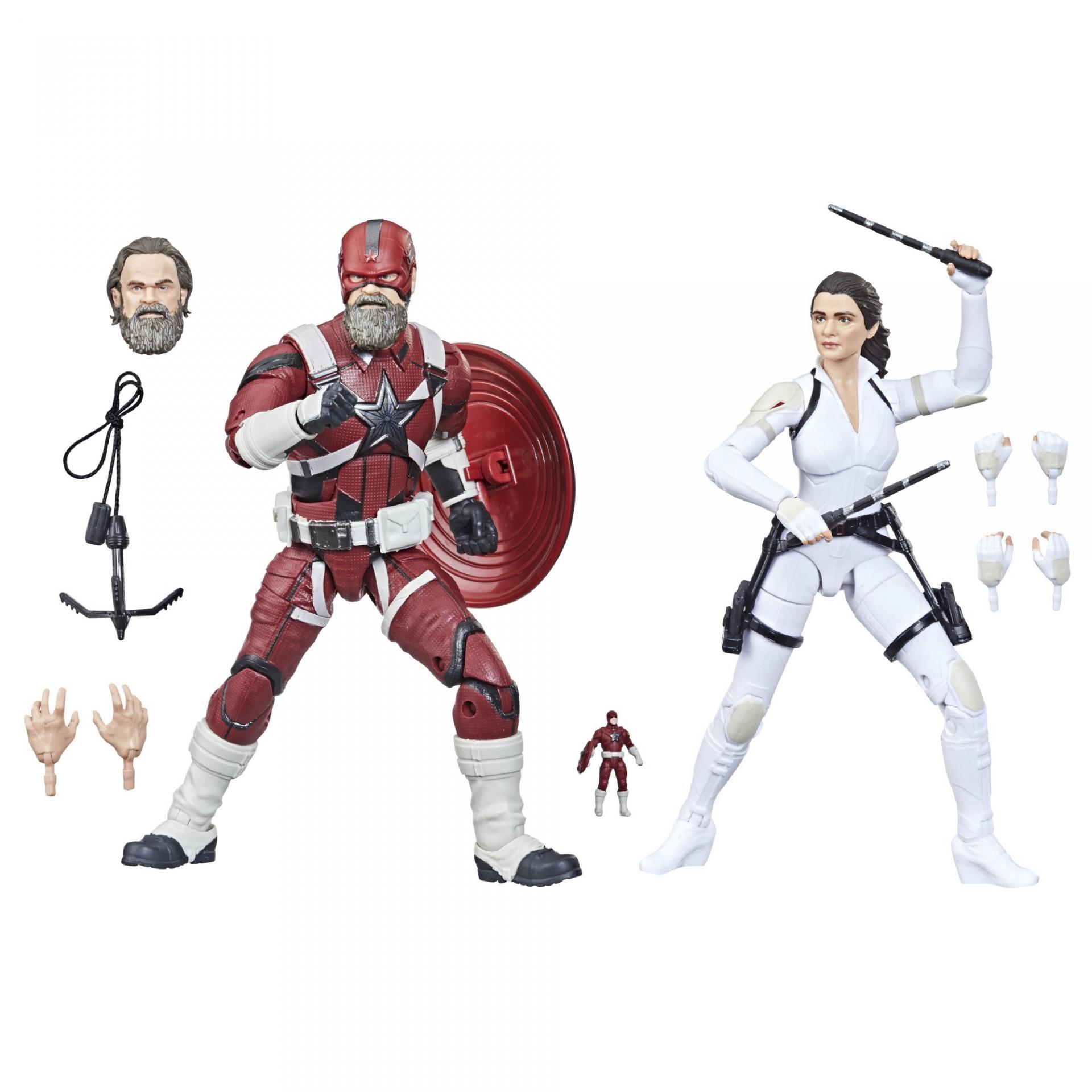 Marvel legends series hasbro red guardian melina vostkoff 2 pack12
