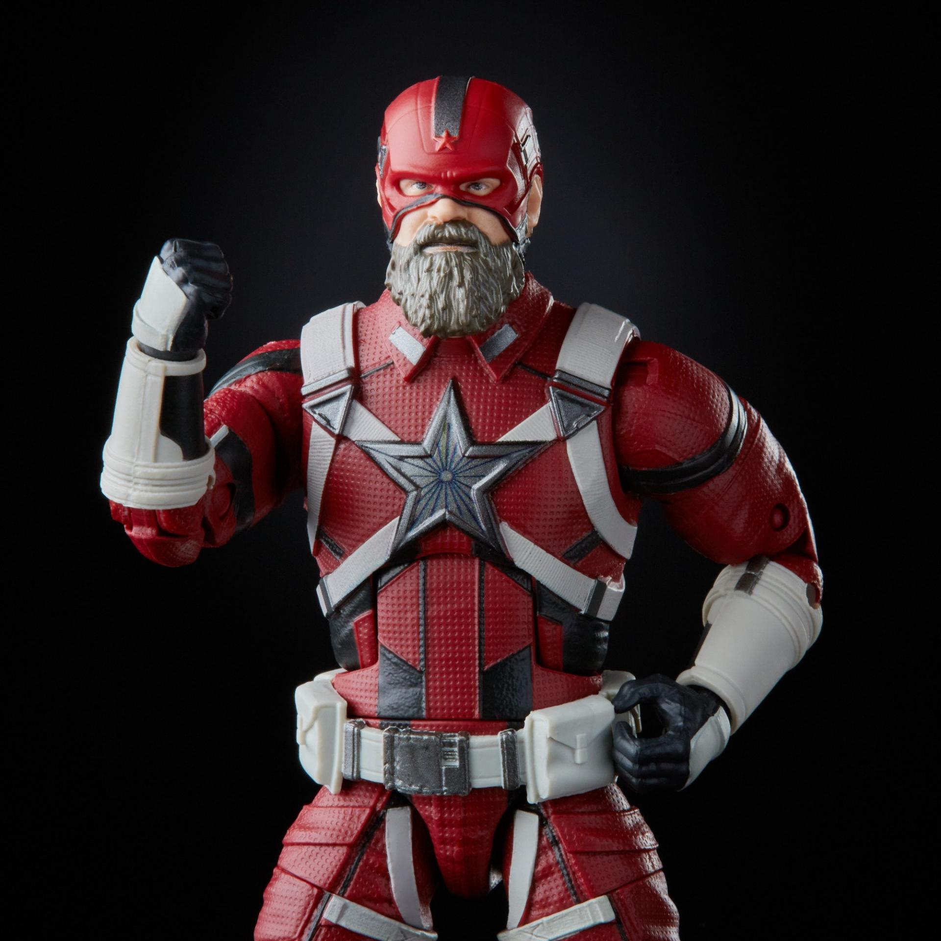 Marvel legends series hasbro red guardian melina vostkoff 2 pack5