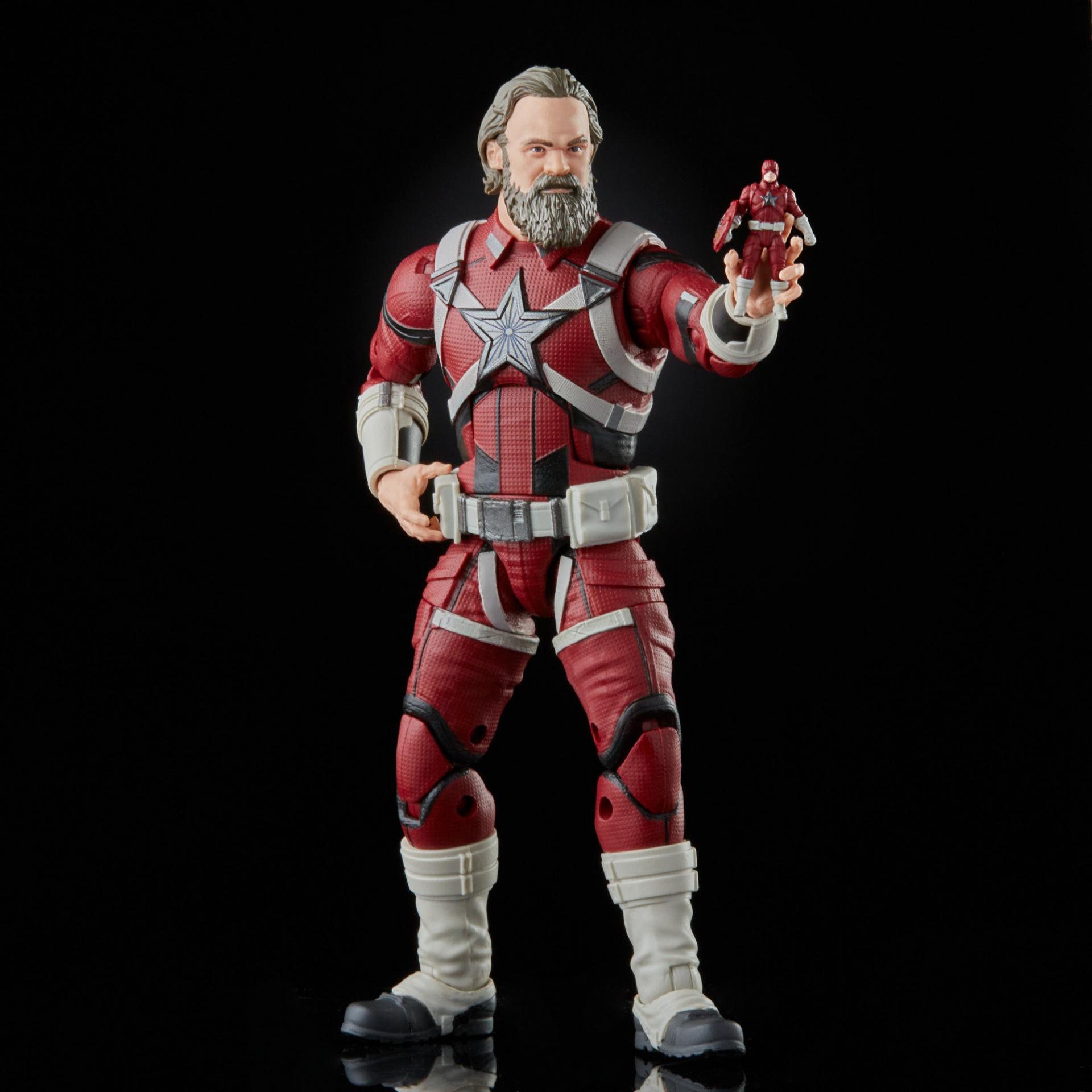 Marvel legends series hasbro red guardian melina vostkoff 2 pack7