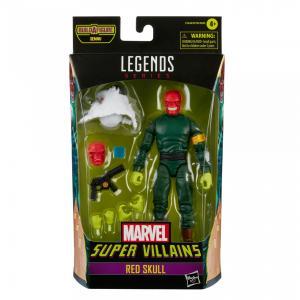 Marvel legends series hasbro red skull