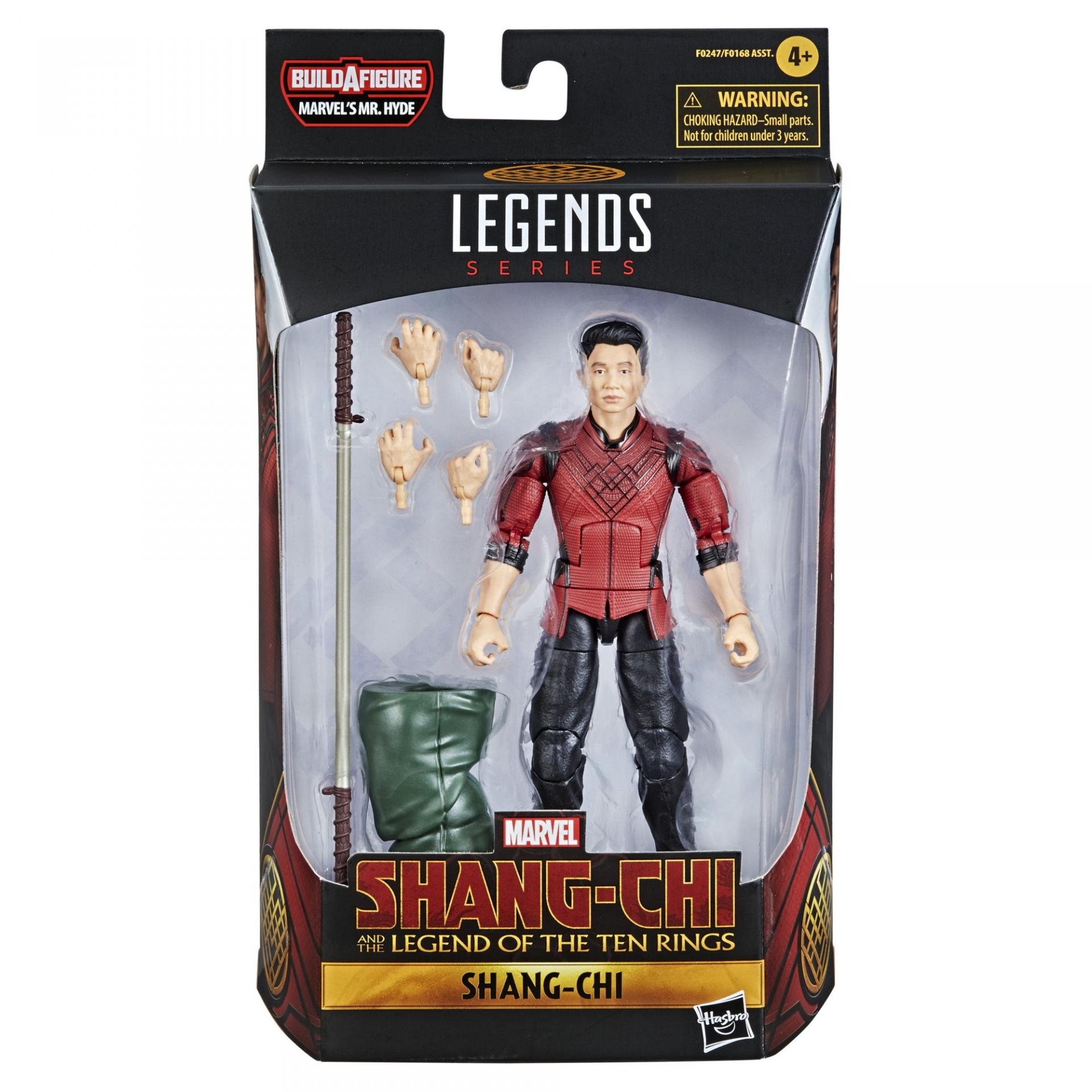 Marvel legends series hasbro shang chi legend of ten rings shang chi