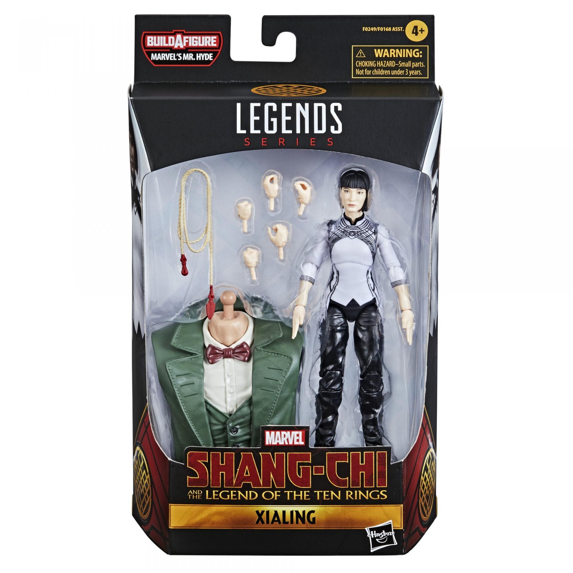 Marvel legends series hasbro shang chi legend of ten rings xialing