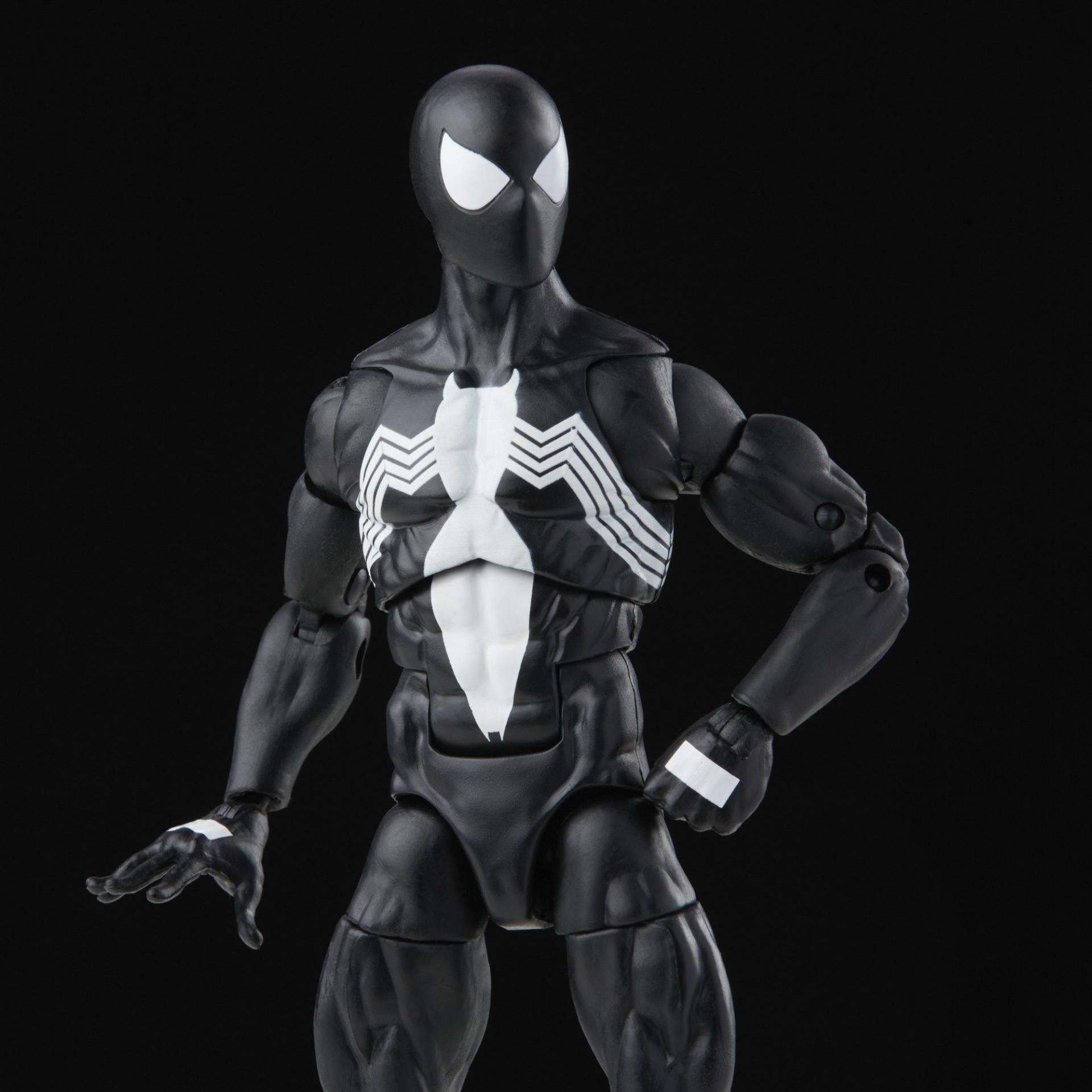Marvel legends series hasbro symbiote spider man3