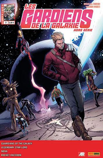 Marvel les gardiens de la galaxie hors serie 2