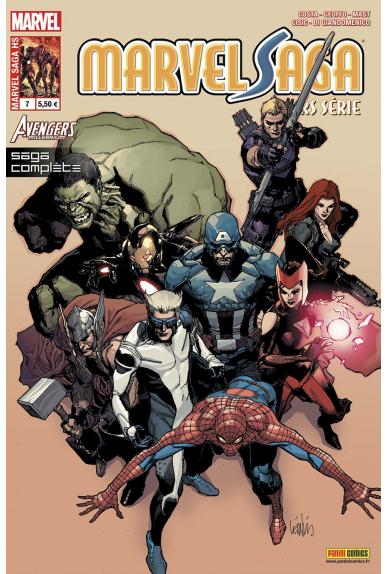 Marvel saga hors serie 7 avengers millenium