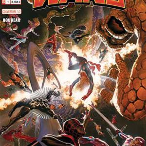 Marvel secret wars 1 couverture 1 2 esad ribic