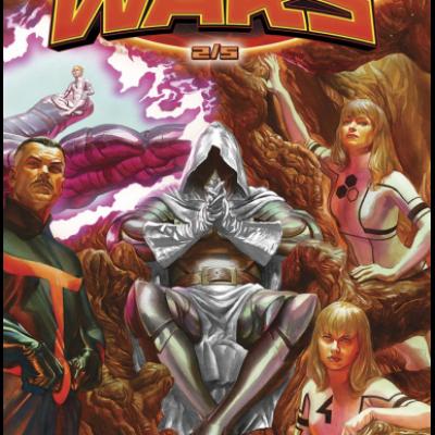 Marvel SECRET WARS 2 - Coffret 2/5 limité à 900 exemplaires