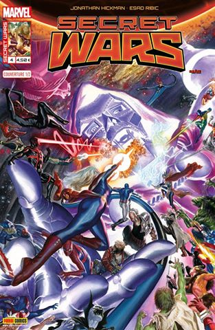 Marvel secret wars 4 couverture 1 2 alex ross