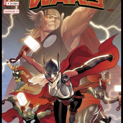 Marvel SECRET WARS 4 - Couverture 2/2 Paul Renaud