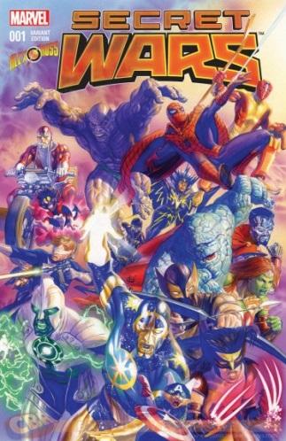 Marvel secret wars 5 coffret 55 limite a 900 exemplaires