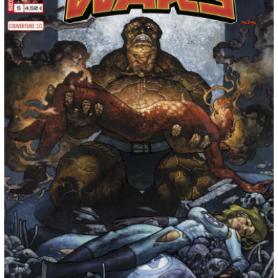Marvel SECRET WARS 5 - Couverture 2/2 Simone Bianchi