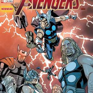Marvel secret wars avengers 1