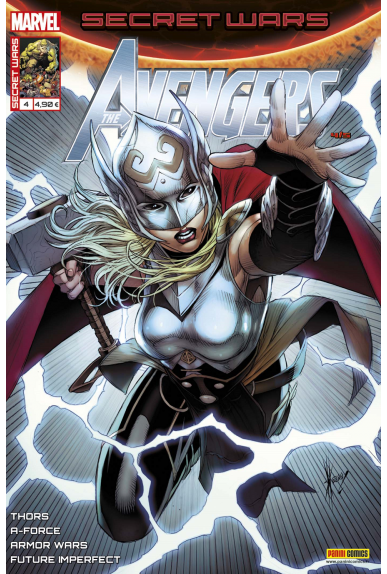 Marvel secret wars avengers 4