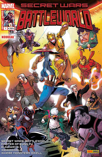Marvel secret wars battleworld 1