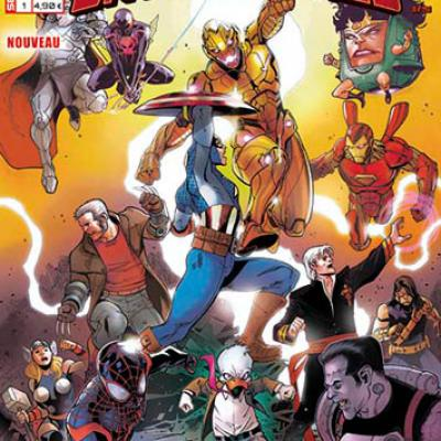 Marvel SECRET WARS - BATTLEWORLD 1