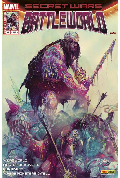 Marvel secret wars battleworld 4