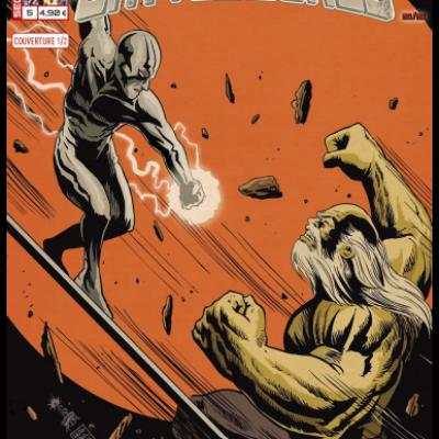 Marvel SECRET WARS - BATTLEWORLD 5 couverture 1/2 Francesco Francavilla