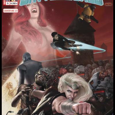 Marvel SECRET WARS - BATTLEWORLD 5 couverture 2/2 Scott Wilson