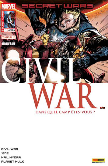 Marvel secret wars civil war 1 leinil yu 1 2