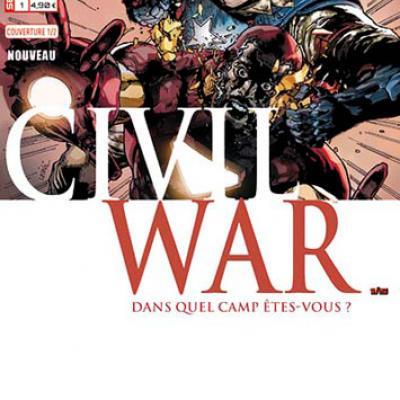Marvel SECRET WARS - Civil War 1 Leinil Yu 1/2