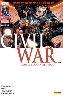 Marvel SECRET WARS - Civil War 1 Leinil Yu 1/2