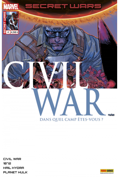 Marvel secret wars civil war 4