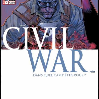 Marvel SECRET WARS - CIVIL WAR 4
